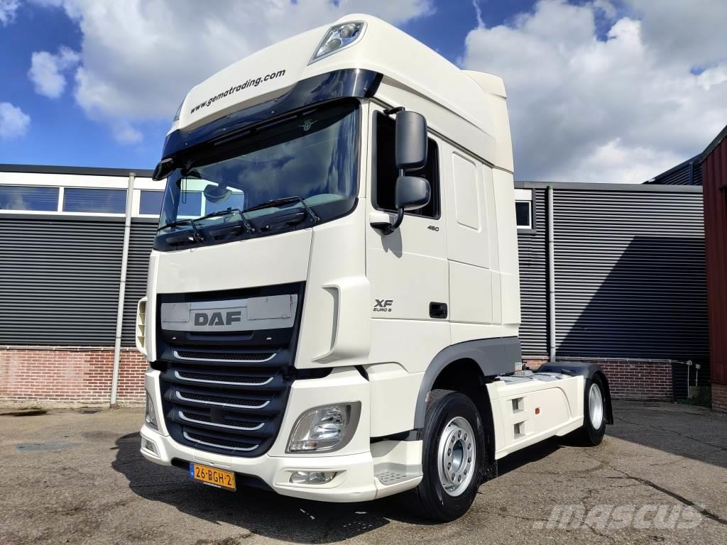 DAF FT XF460 4x2 SuperSpaceCab Euro6 - Double fuel Tan