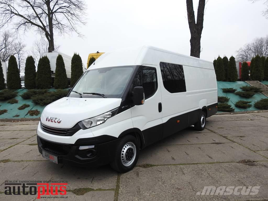 Iveco DAILY 35S16 VAN 7 SEATS AUTOMAT GEARBOX AIRCONDIT.
