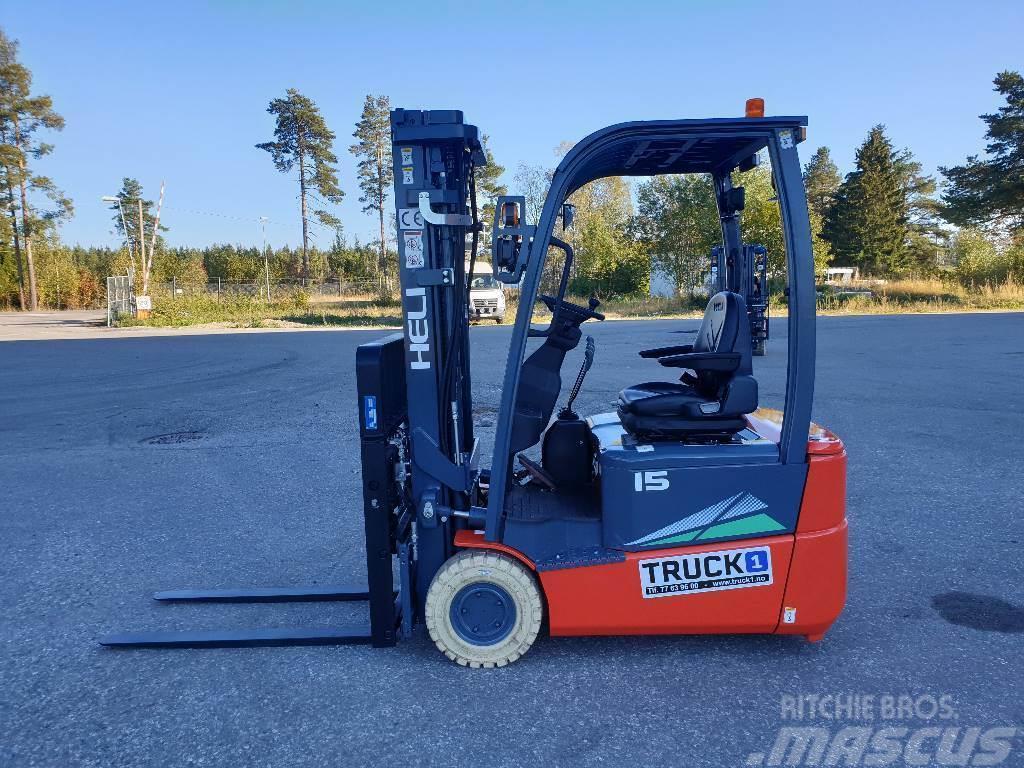 Heli CPD15SQ - 1,5 t el. truck - 4,7 m LH (PÅ LAGER)