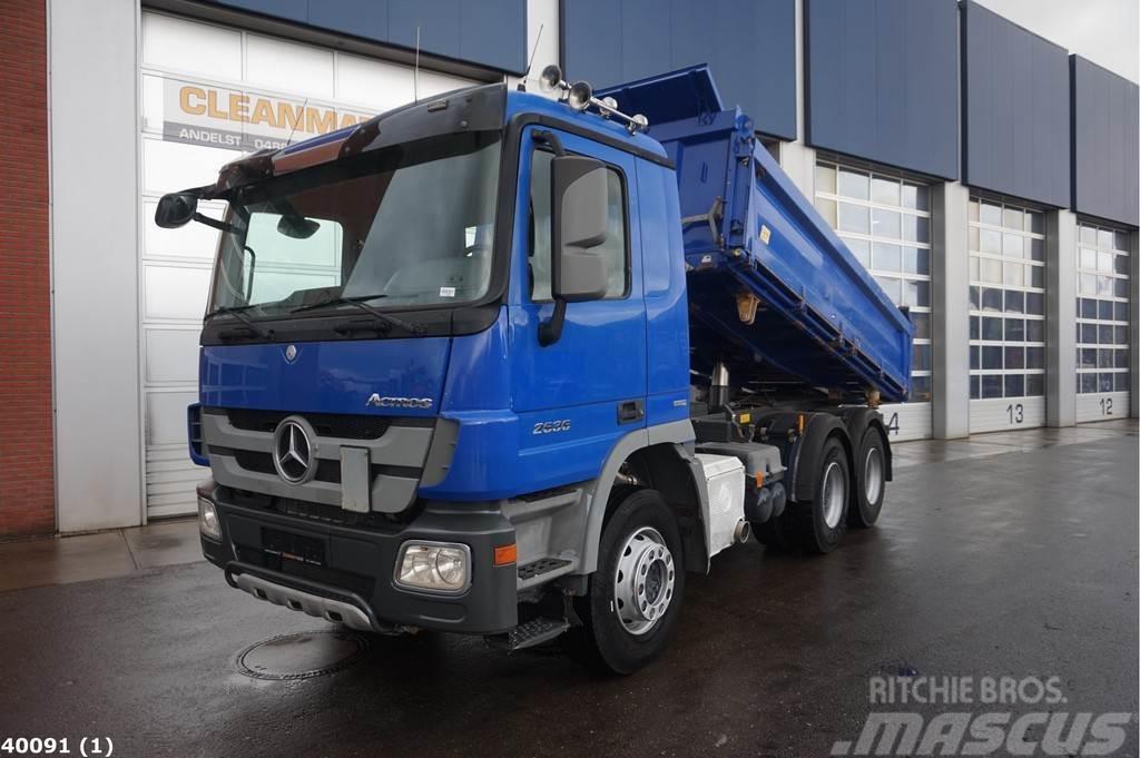 Mercedes-Benz Actros 2636 6x4 Meiller EPS Full steel