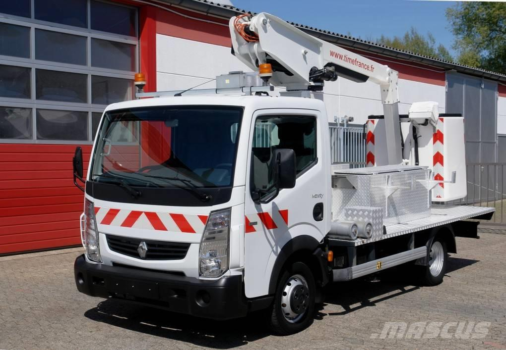 Renault Maxity 120.35 Arbeitsbühne 9,80m Korb 200kg TÜV