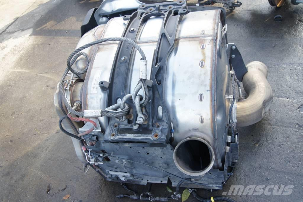 Renault T-Range, Gama, VOLVO FH4, EURO6 exhaust sy