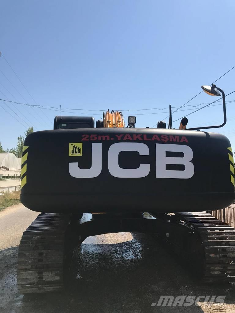 JCB JS 290 WITH Rock Crusher EXCAVATOR 2016