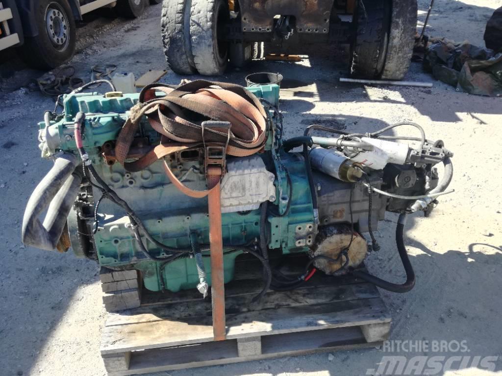 Volvo EW 230 C Motor og pumpe