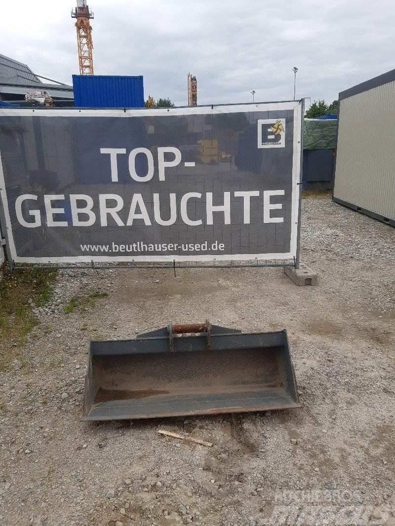 Liebherr Grabenräumlöffel 1200mm MS03 starr