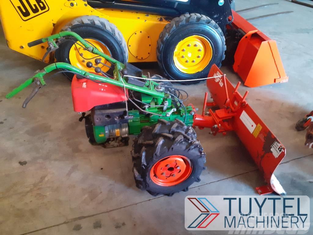 Agria 5500KL bezem schuif mini tuintractor tractor 2wd