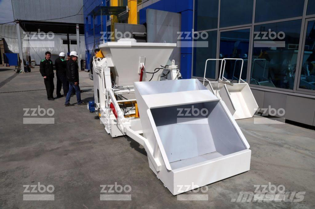 ZZBO PORTABLE BLOCK MAKING MACHINE with hopper