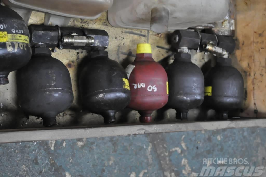 John Deere Timberjack Akumulatory ciśnienia
