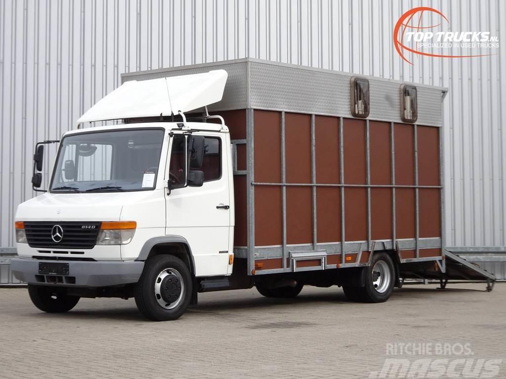 Mercedes-Benz 814 D Paardenwagen, Horsetruck, Pferdewagen 3-4 -