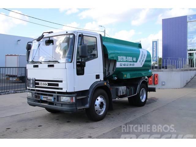 Iveco EUROCARGO 130E17+ TANK 8000 L (3 comp. )