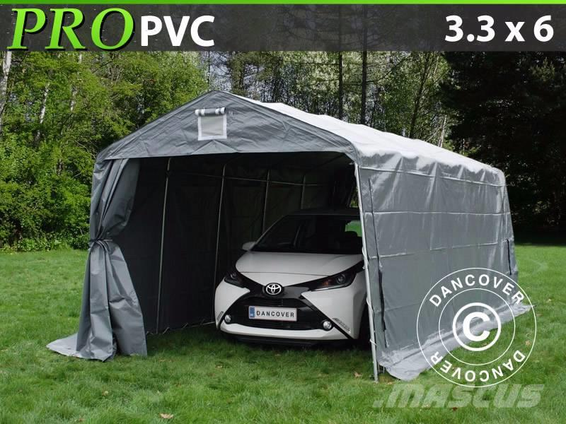 Dancover Portable Garage 3,3x6x2,4m Lagertelt