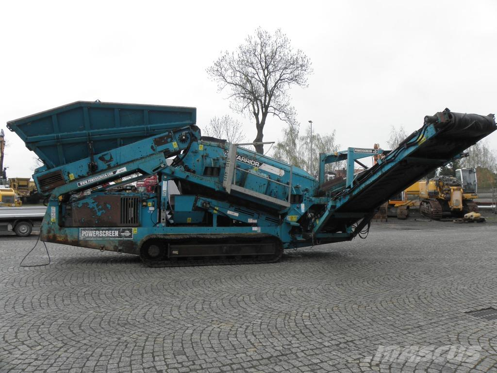PowerScreen Warrior 1400 z Niemiec
