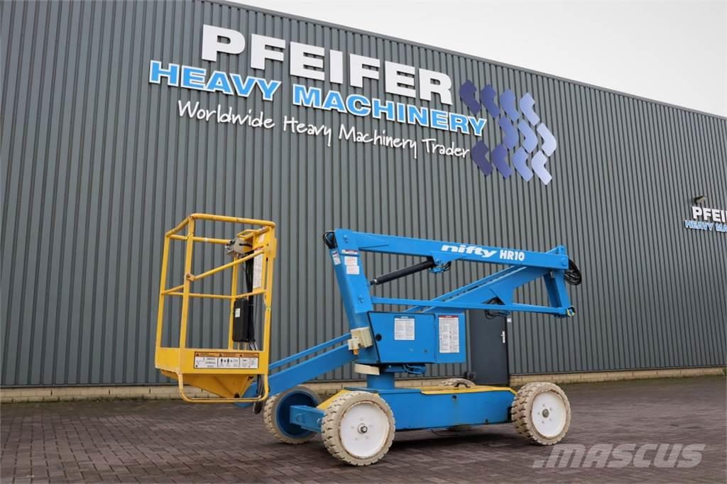 Niftylift HR10 Electric, 10m Working Height, Non Marking Tyr