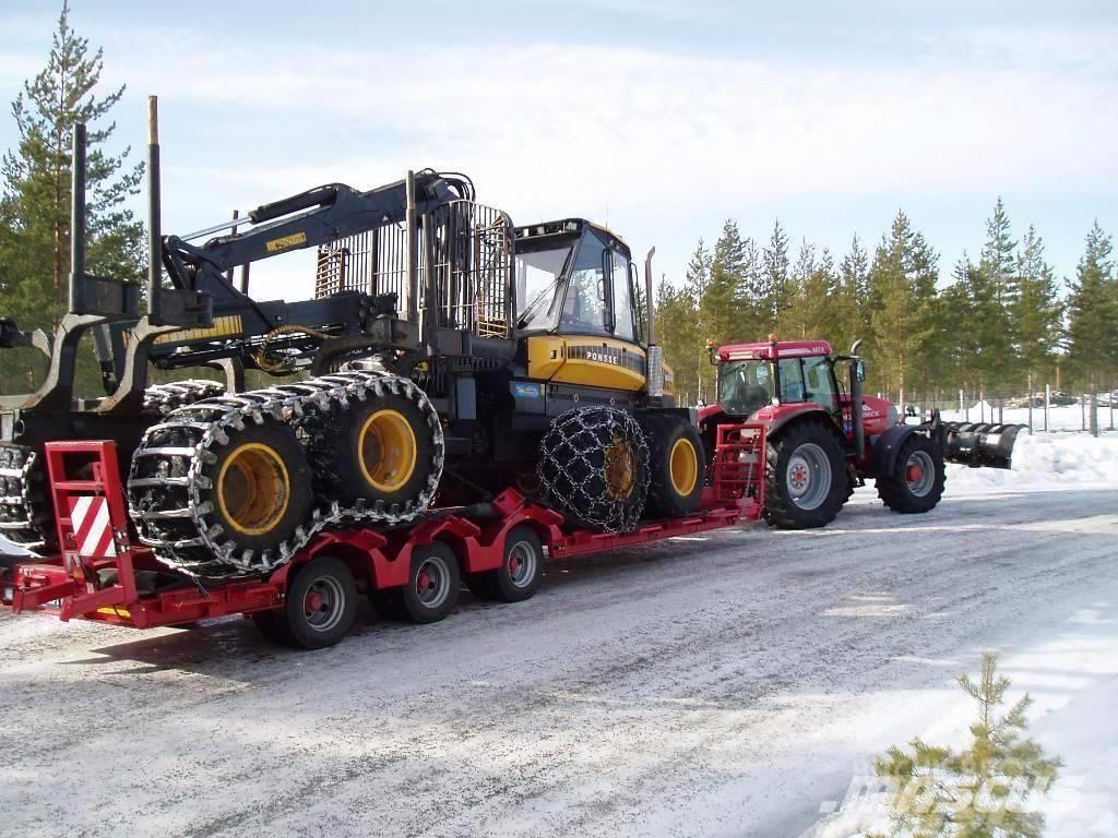 Chieftain Skogsmaskintrailer 26 Ton