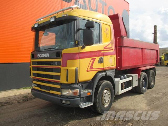 Scania R144 6X4 Full Steel Manual 6X4