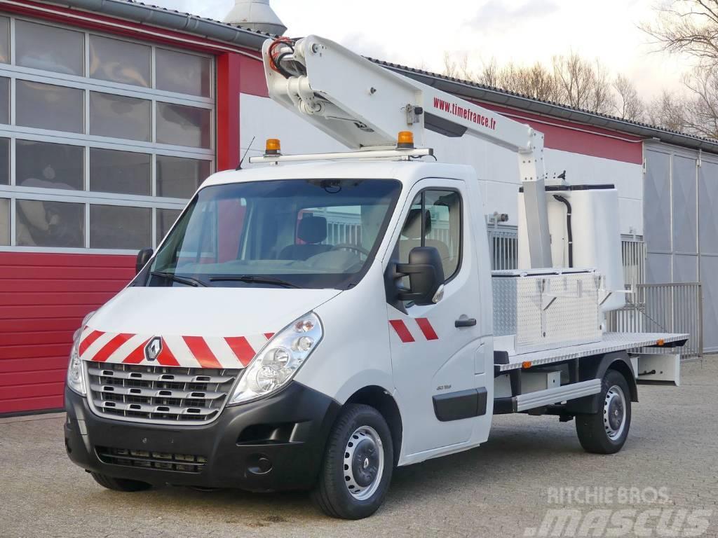 Renault Master 125 DCI Arbeitsbühne 11m AHK E5 TÜV UVV