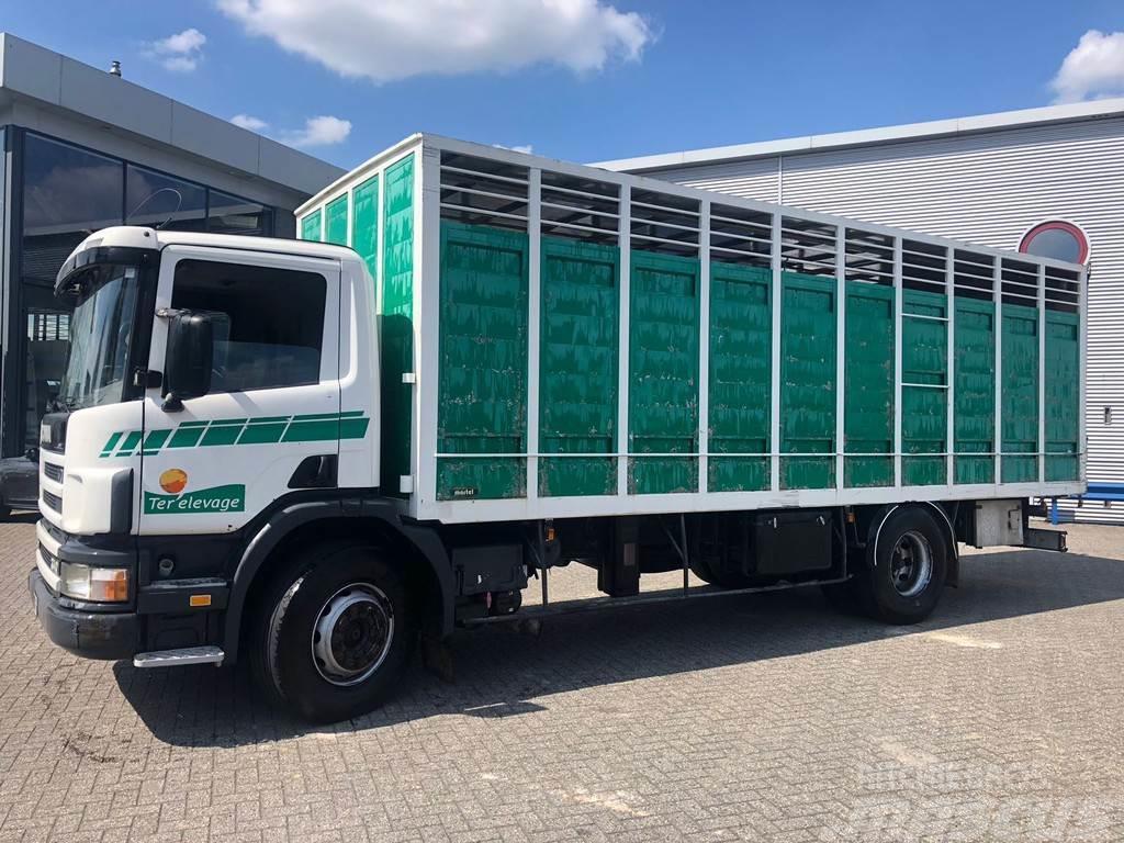 Scania 114-340 / MANUAL / RETARDER / EURO-2 / ANIMAL TRAN