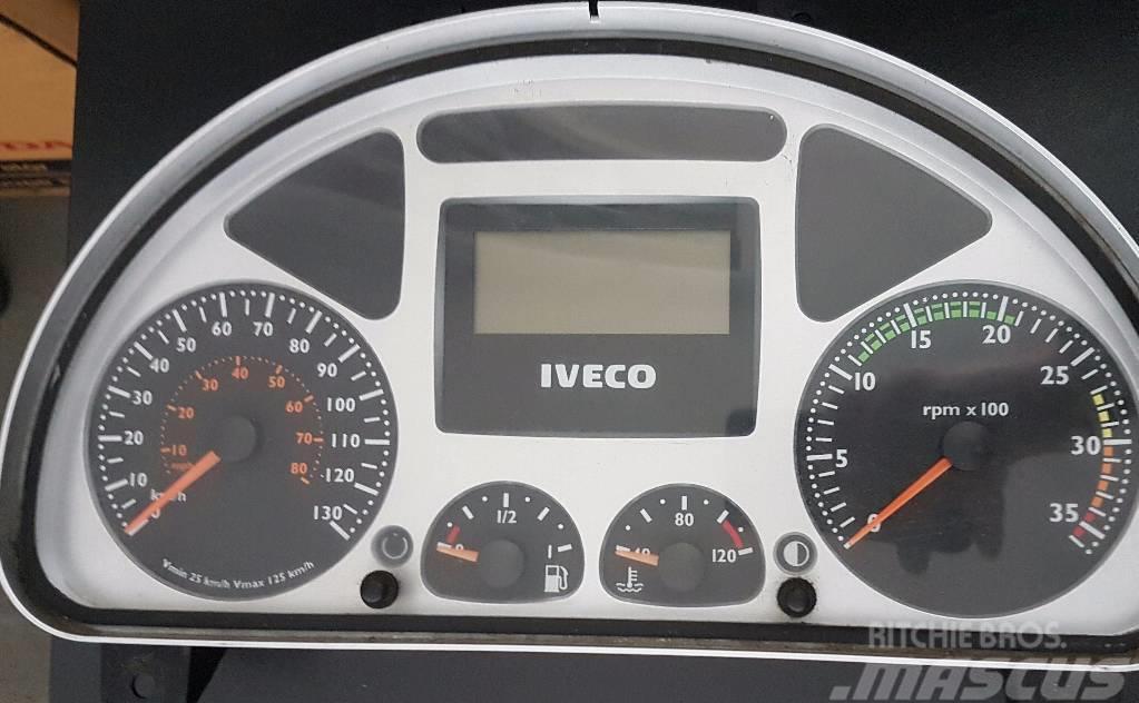 Iveco Eurocargo přístrojová deska 504046588, 504076725