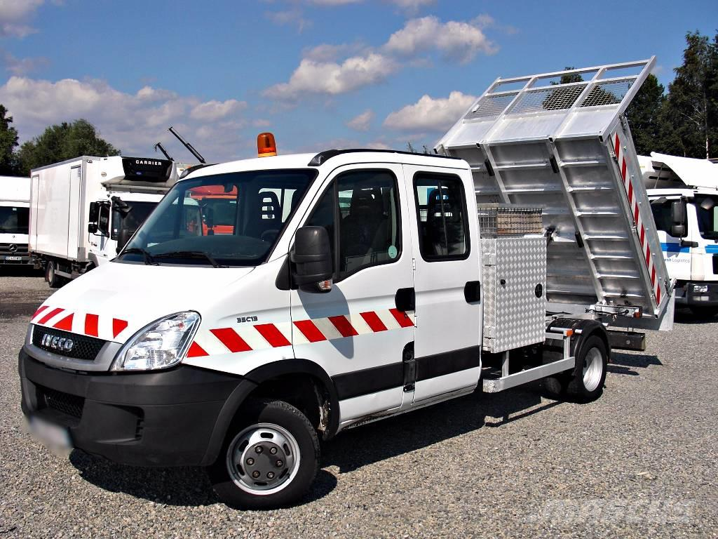 iveco daily 35c13 kipper tipper doublecab 3 5t occasion prix 15 084 ann e d 39 immatriculation. Black Bedroom Furniture Sets. Home Design Ideas