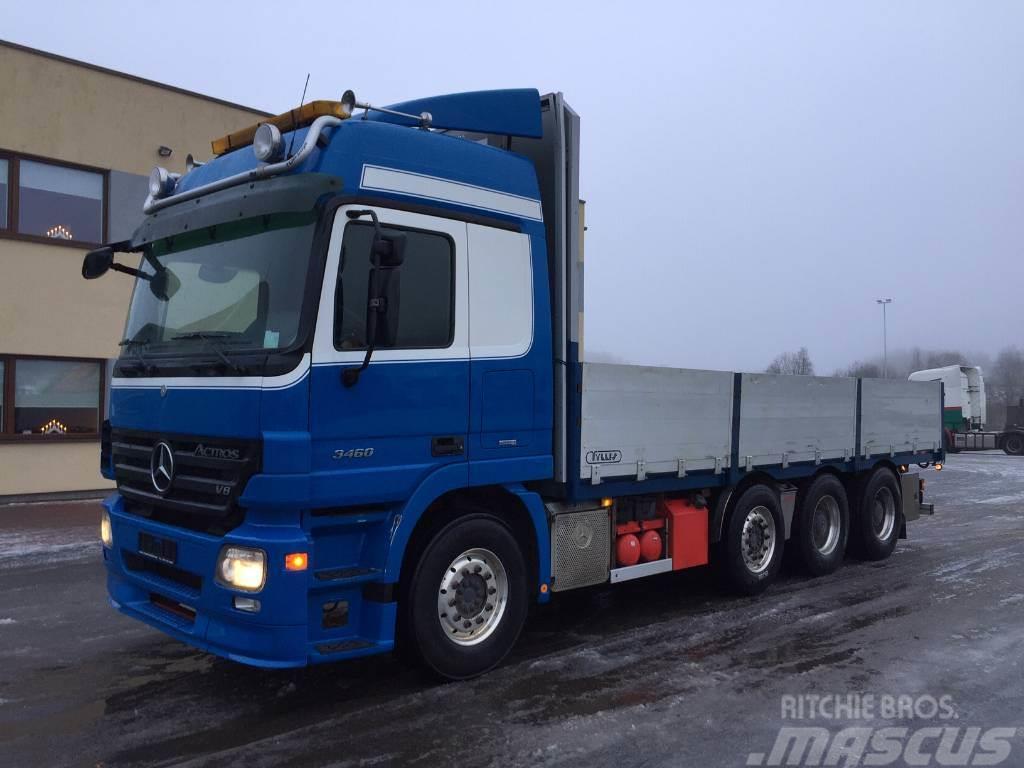 Mercedes-Benz Actros 2660 8x4+HYDRAULICS+CRANE READY