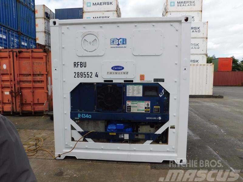 Carrier 20 ft. Kühlcontainer VERMIETUNG / MIETE