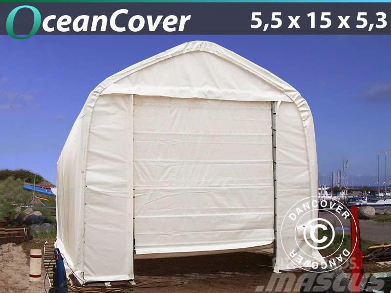 Dancover Storage Tent 5,5x15x4,1x5,3m PVC, Telthal
