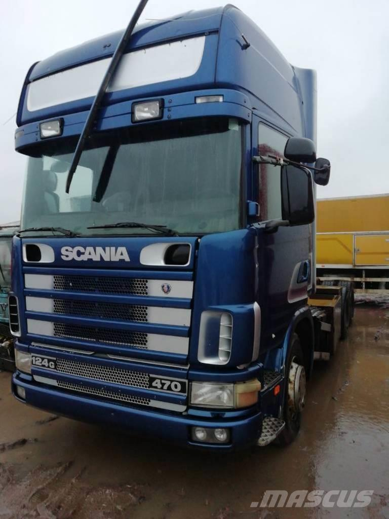 Scania R 124 GB 6X2 NZ 470 FOR PARTS