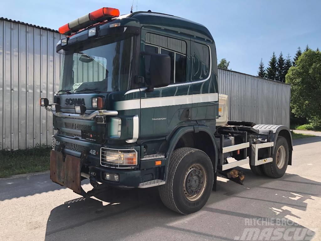 Scania P420 4X4 SNOWSYSTEM + HYDRAULICS