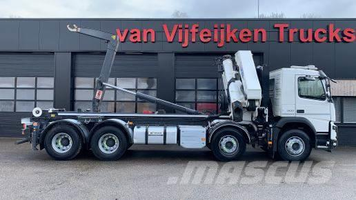 Volvo FMX 500 8X4 - HMF 5020K4 KRAN/CRANE/GRUA AJK 20 TO