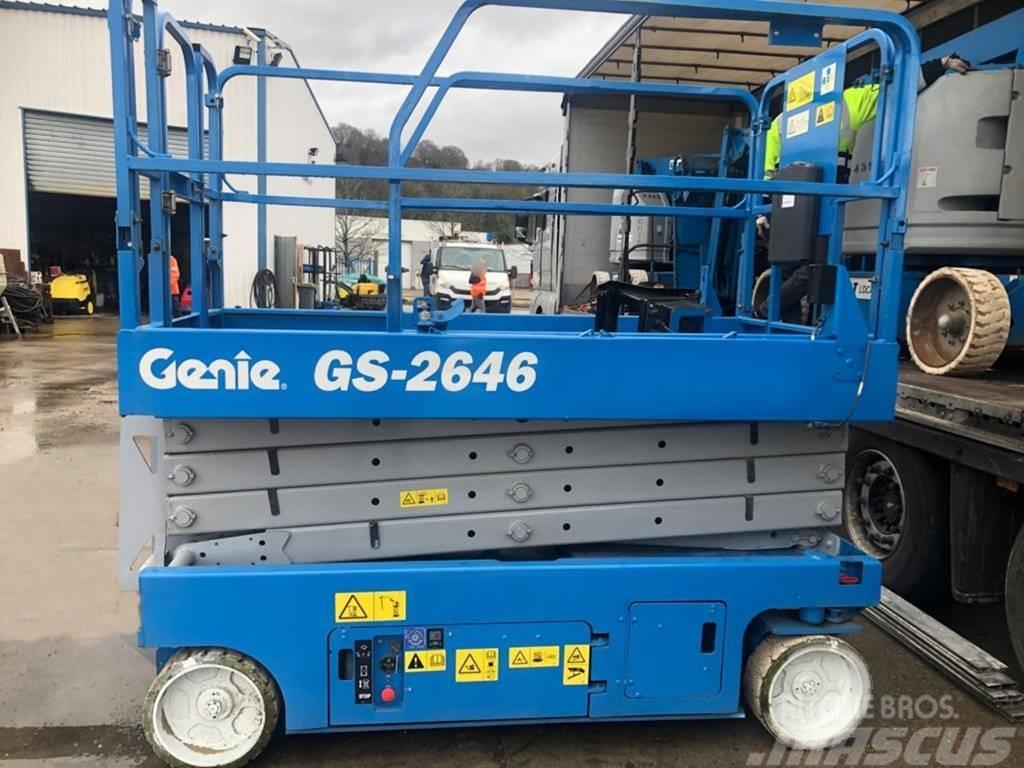 Genie Samojezdny Podnośnik Nożycowy Zwyżka GENIE GS-2632