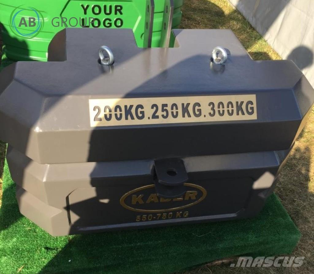[Other] Kaber Tractor ballast counter weight 750 kg  / Obc