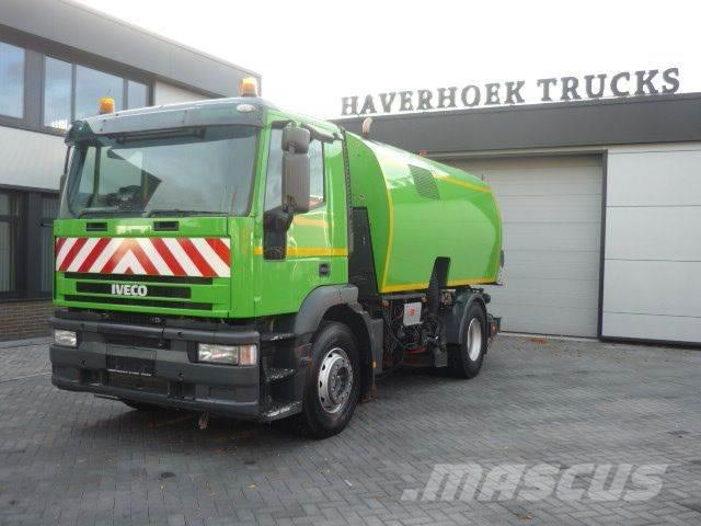 Iveco MH 190 E24/P Schörling Optifant 70 Dual Sweeper /