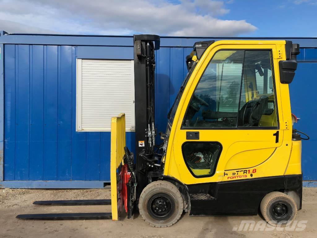 Hyster H 1.8 FT + 360 ROTATOR