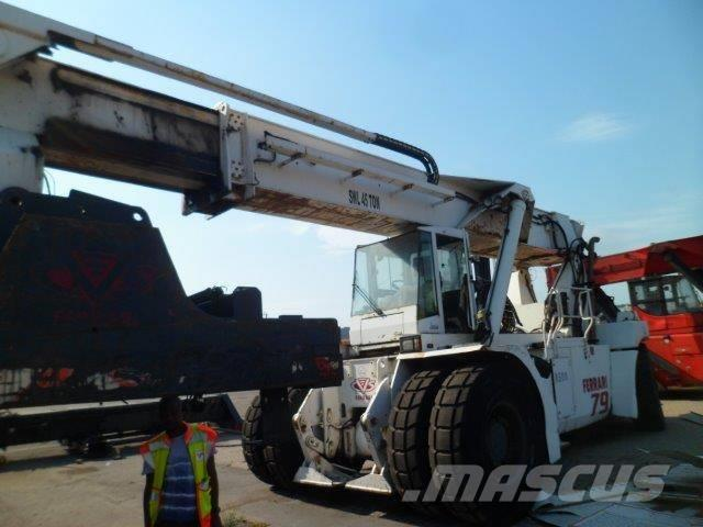 Ferrari 498 Scrapped 45 Ton Reach Stacker
