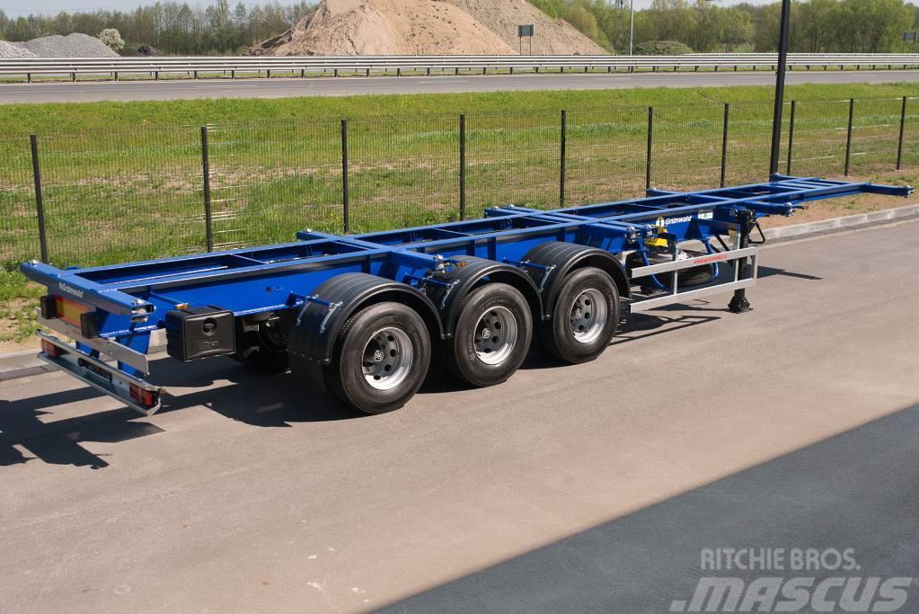 Grunwald Heavy Duty container semitrailer