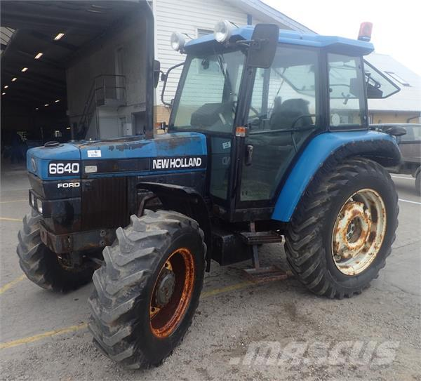 6640 Ford Tractor : Used ford tractors year for sale mascus usa
