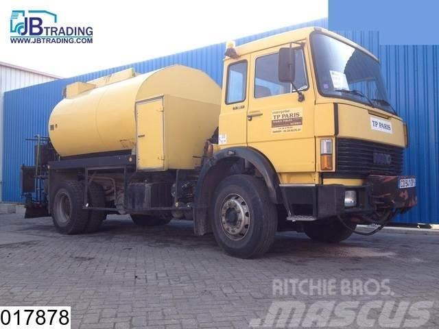 Iveco 170 20 Bitum Spreader 8000 liter, Steel suspension