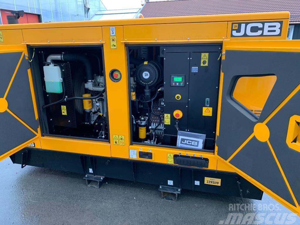 JCB nytt elverk generator 110kVA 88kW EU stage3