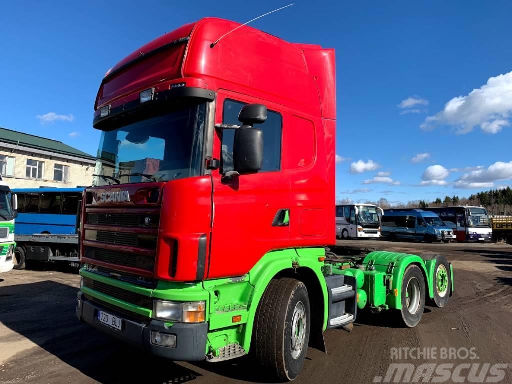 Scania R 164 GA+HYDRAULIC
