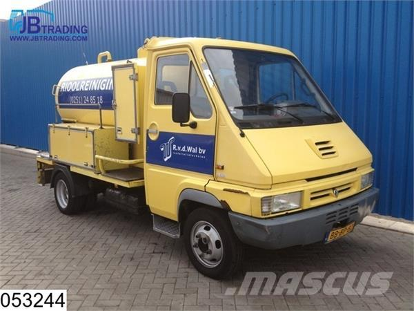 Renault b 110 B 110 - 50 Riool reiniger, Manual, Steel sus