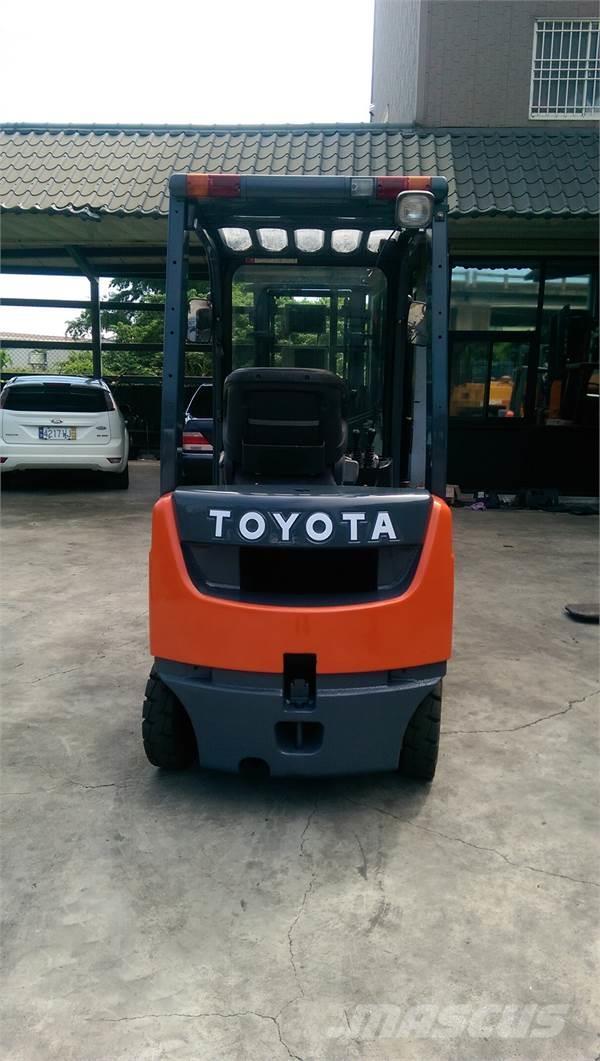 Toyota 8FD1.5T, 2014, Misc Forklifts