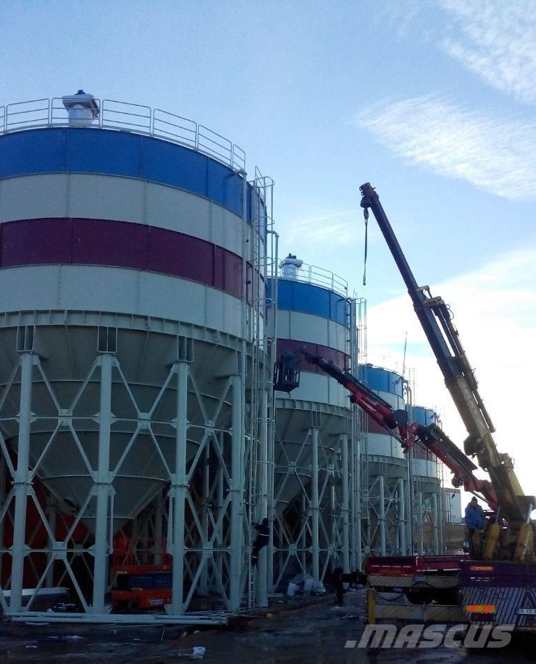 Constmach 1000 Tonnes Capacity CEMENT SILO