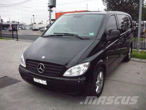 18732ccf9dc8f7 Used Mercedes-Benz Vito 115CDI Compact panel vans Year  2006 Price ...