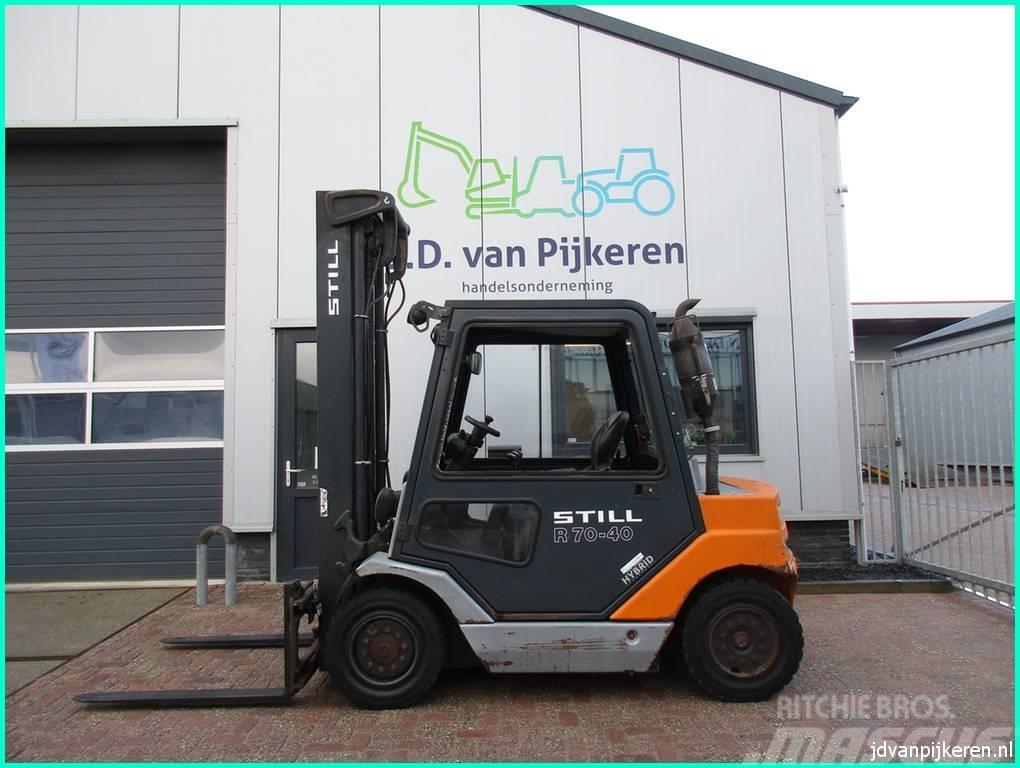 Still R70-40 Hybride diesel sideshift+ 4x hydr! 2858uur!