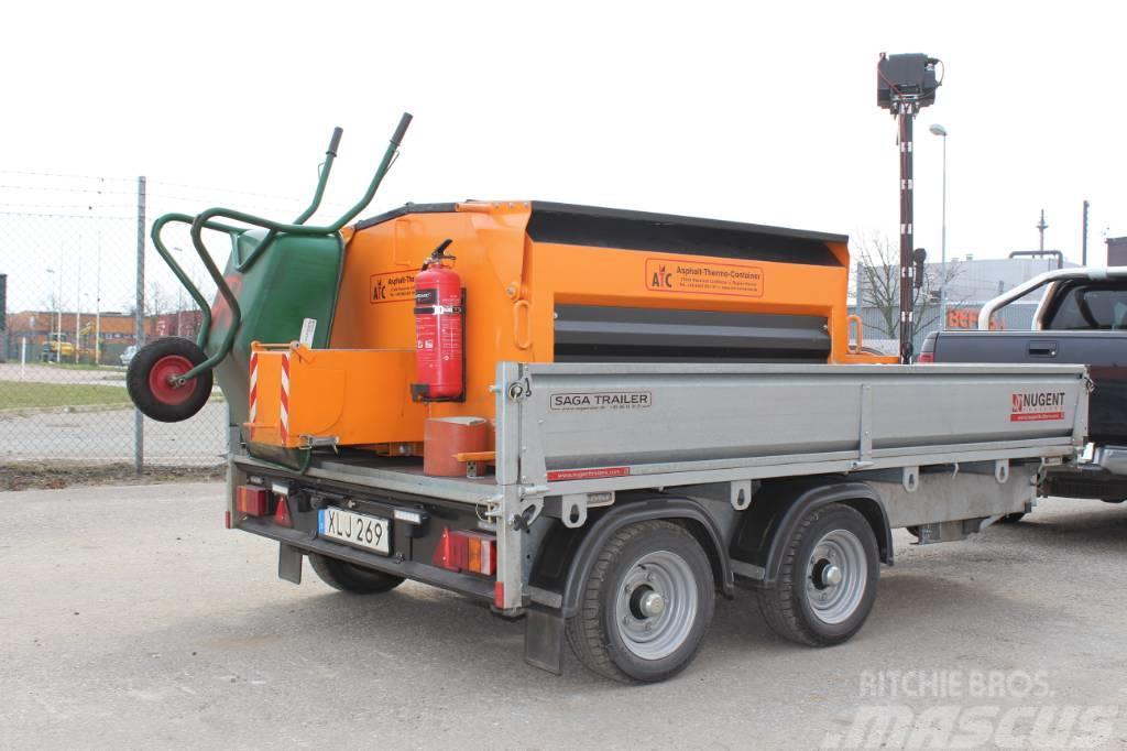 [Other] Värmeisolerad asfaltcontainer ATC25M