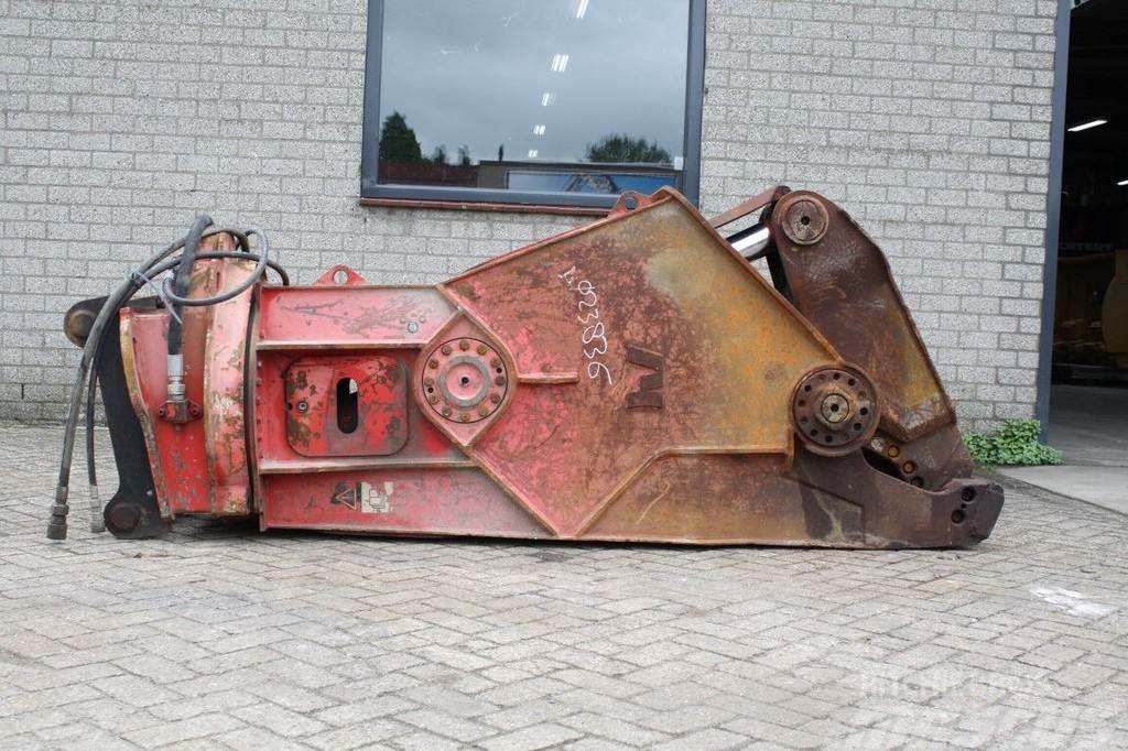 Verachtert Metal scrap shear VHS30