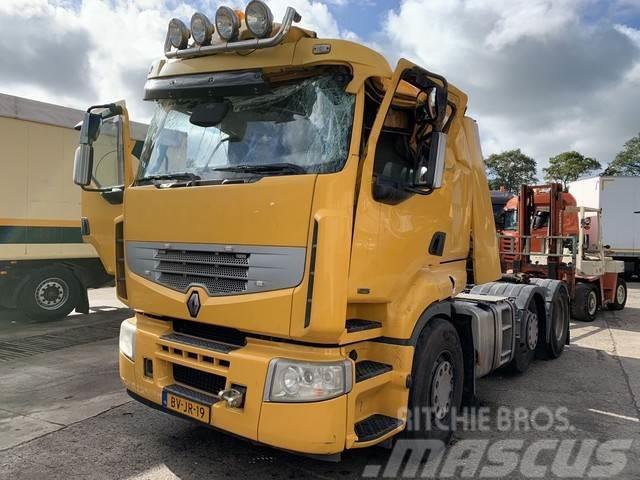 Renault PREMIUM 450.25/26 T 6X2 PUSHER, Unfall/Damage