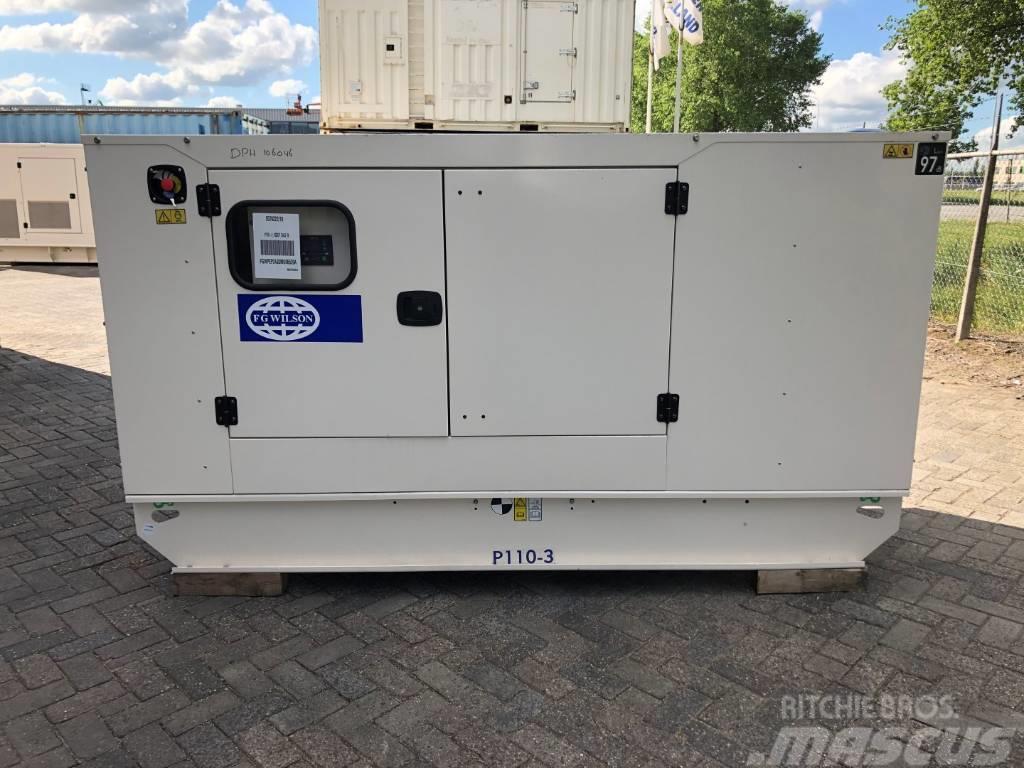 FG Wilson P 110-3 - Generator Set - 110 kVa