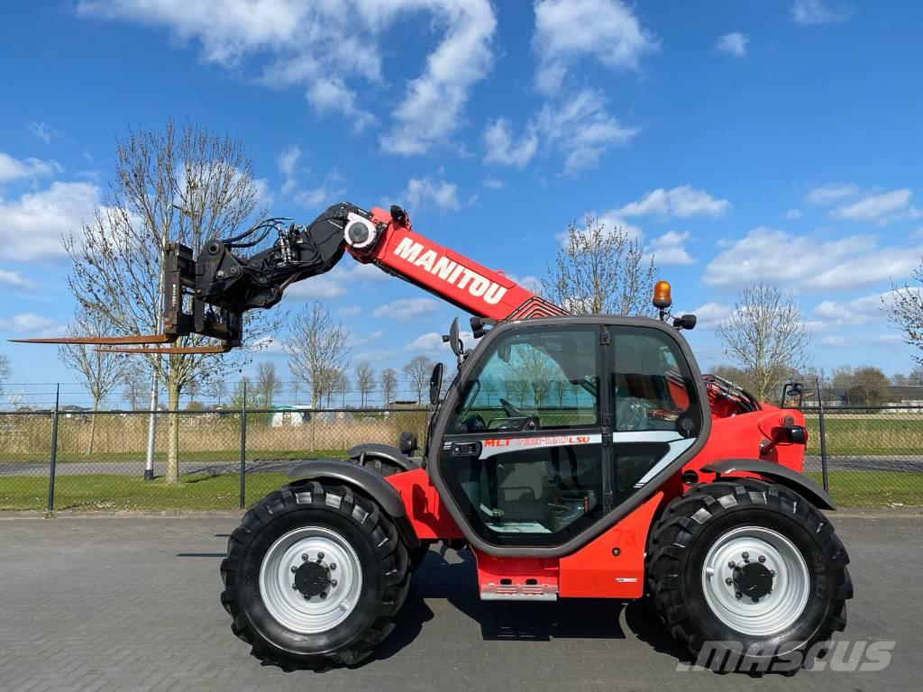 Manitou MLT 735-120 LSU / HYDR. FORKS / TOP CONDITION