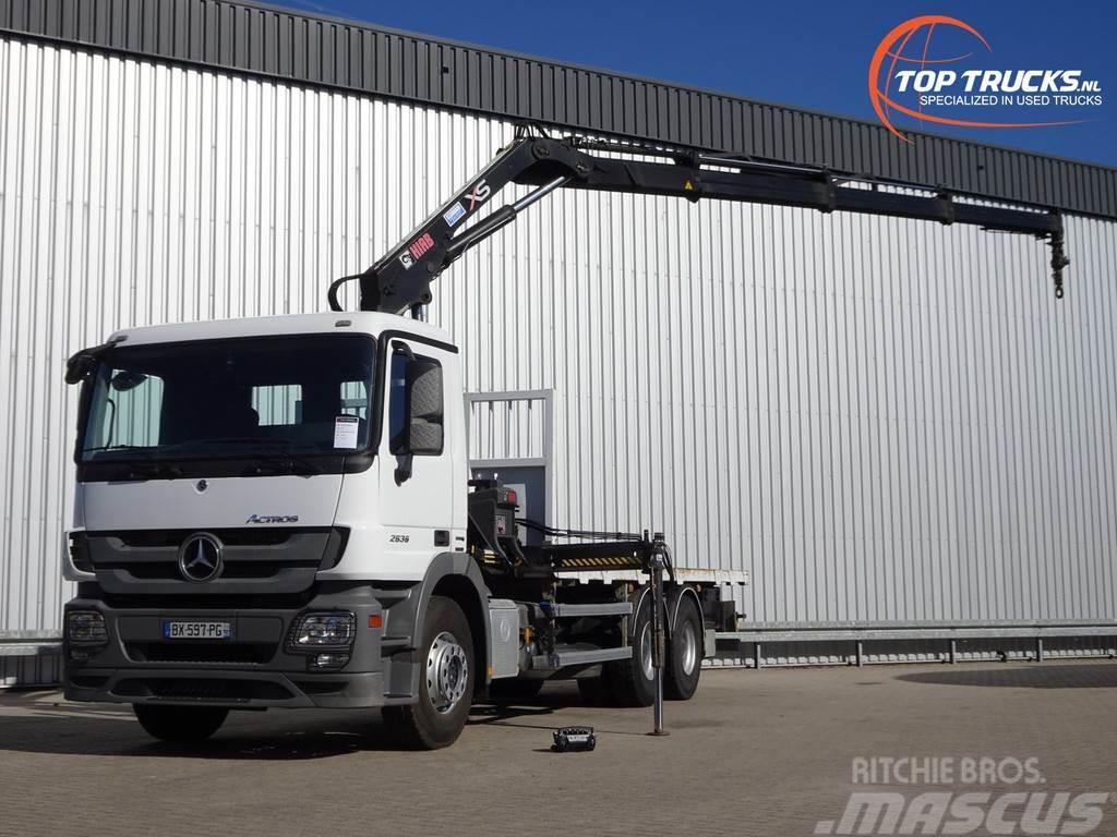 Mercedes-Benz Actros 2636 6x4 - HIAB 14TM Kraan, Crane, Kran, Gr